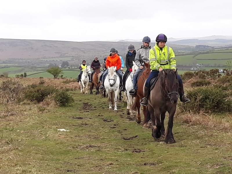 Residents and Staff enjoy a Residential Trip in Dartmoor